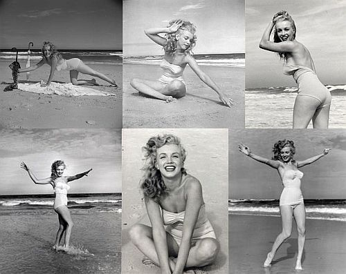 Marilyn Monroe bikini photoshoot