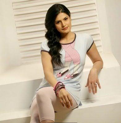 Zarine Khan in loungewear