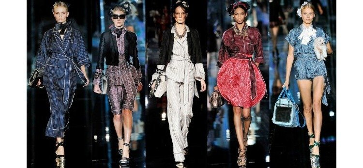 collection for Louis Vuitton Nightwear