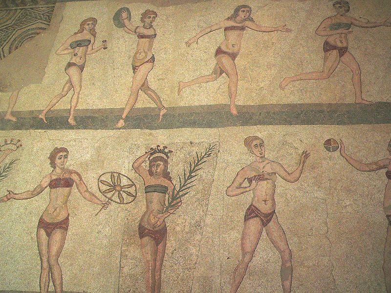 bikini girls arts