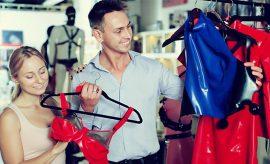 Helping Husbands Buy Lingerie