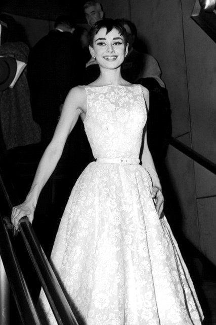 Audrey Hepburn Oscar Dress
