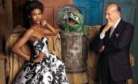 Celebs High Fashion Oscar de la Renta