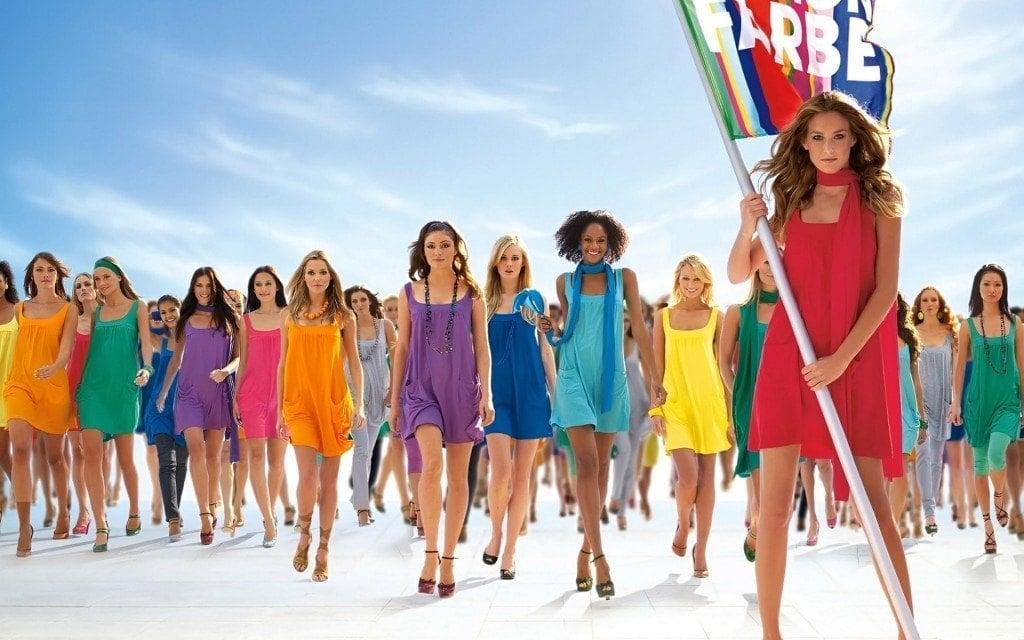 Colorful Summer Dress Fashion Show