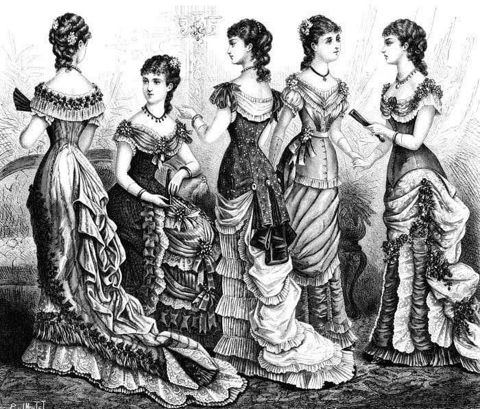 History of Fashion dress