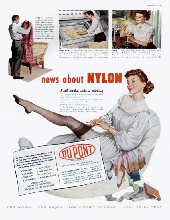 History of Nylon Stockings