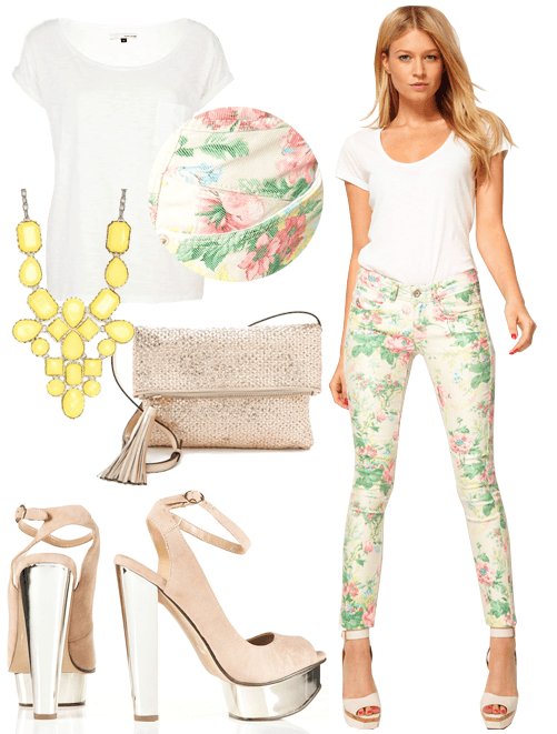 How to accessorize white