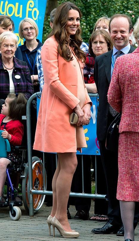 Kate Middleton at  Naomi House Children's Hospice
