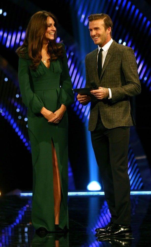 Kate Middleton in Alexander McQueen gown