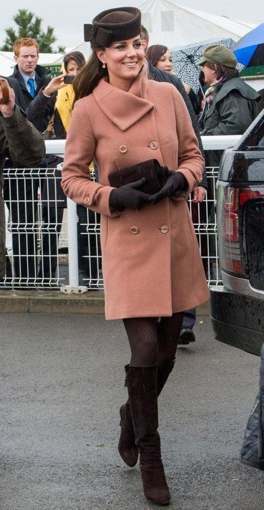 Kate Middleton in Cheltenham Festival