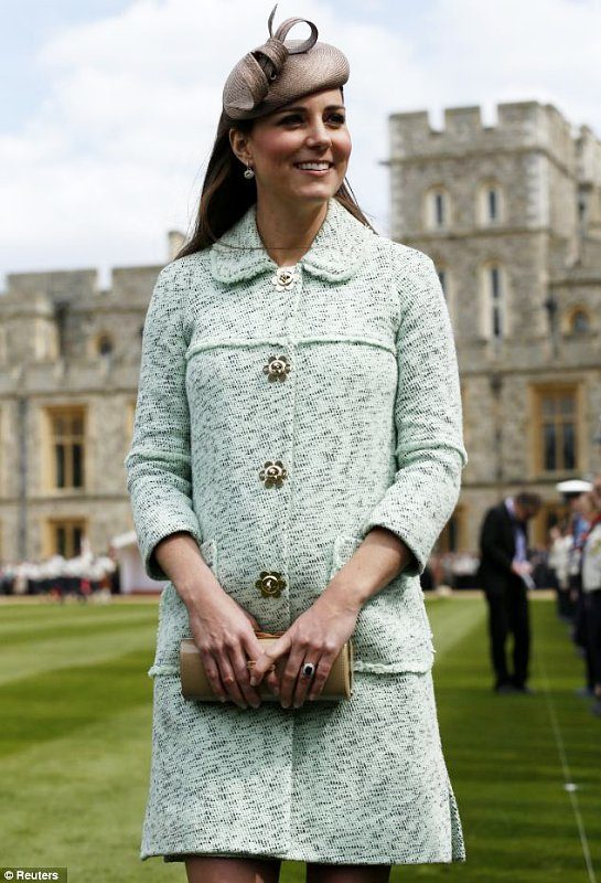 Kate Middleton in Mulberry dress