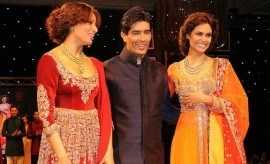 Manish Malhotra celebrating 100 years Bollywood fashion