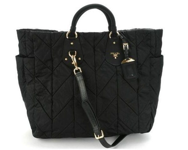 Prada Quilted Nylon Satchel