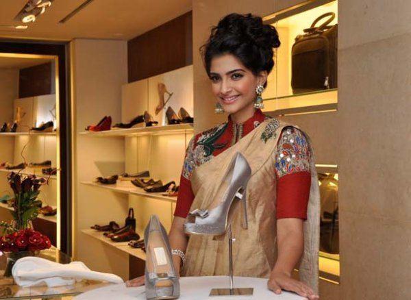 Sonam Kapoor Salvatore Ferragamo shoes
