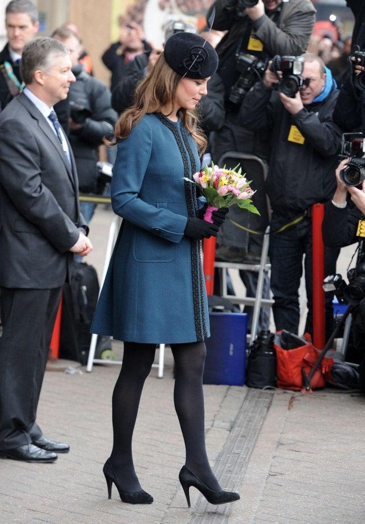 The Queen & Kate Middleton Visit Baker Street Underground Station