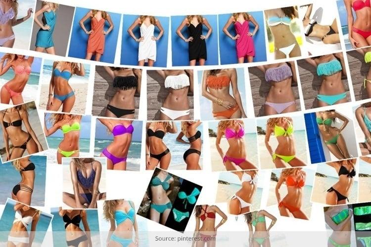 And bikini top types