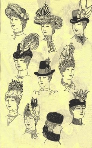 Victorian Hats For Women