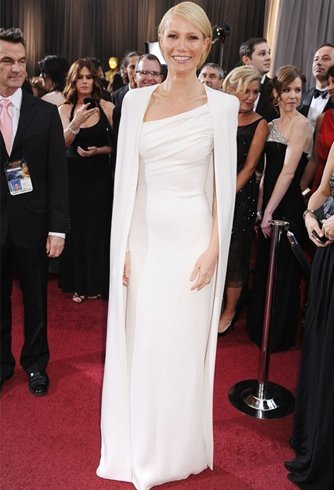 White oscar dresses