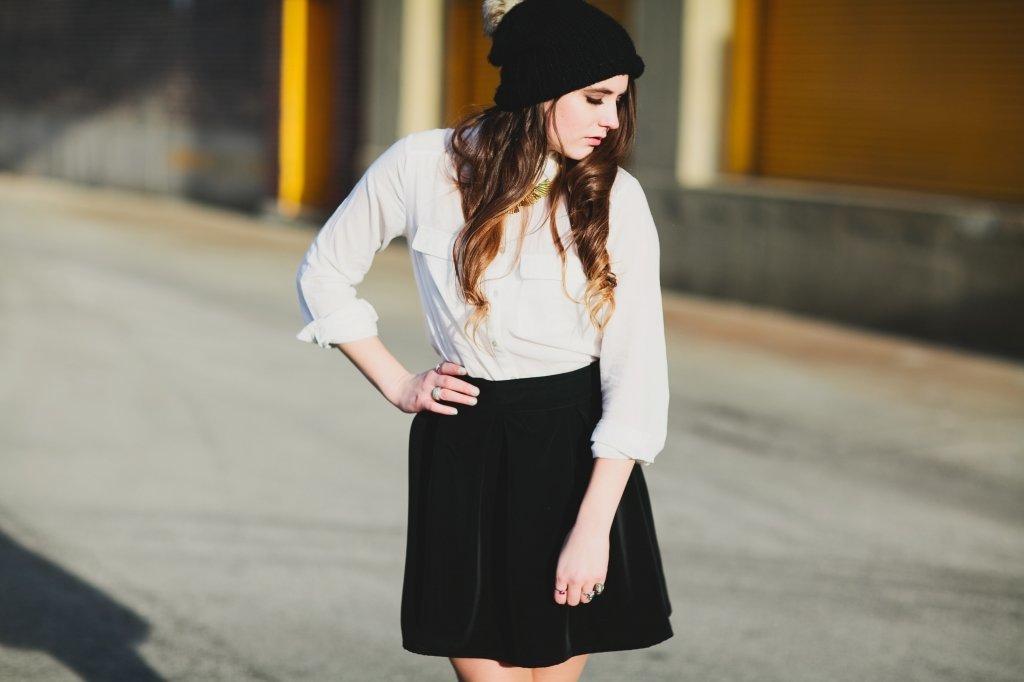 classic skirt for womens