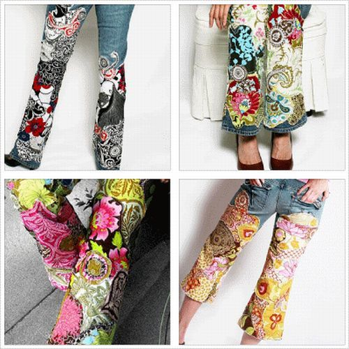 womens painting jeans