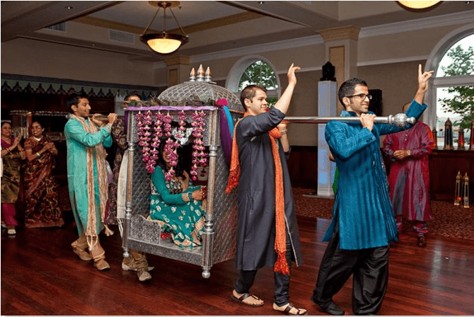 Mehndi Ceremony Guests : What to wear a sangeet ceremony