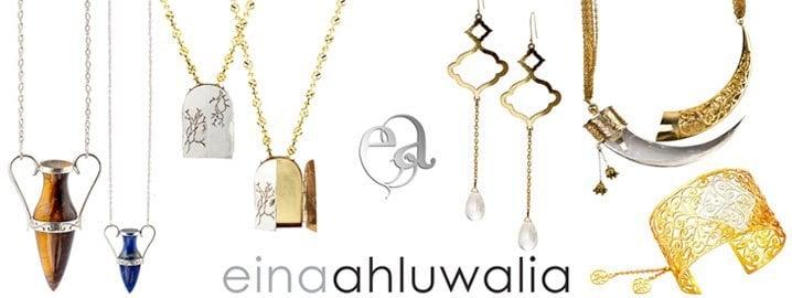 Eina Ahluwalia jewelry designer contemporary jewelry