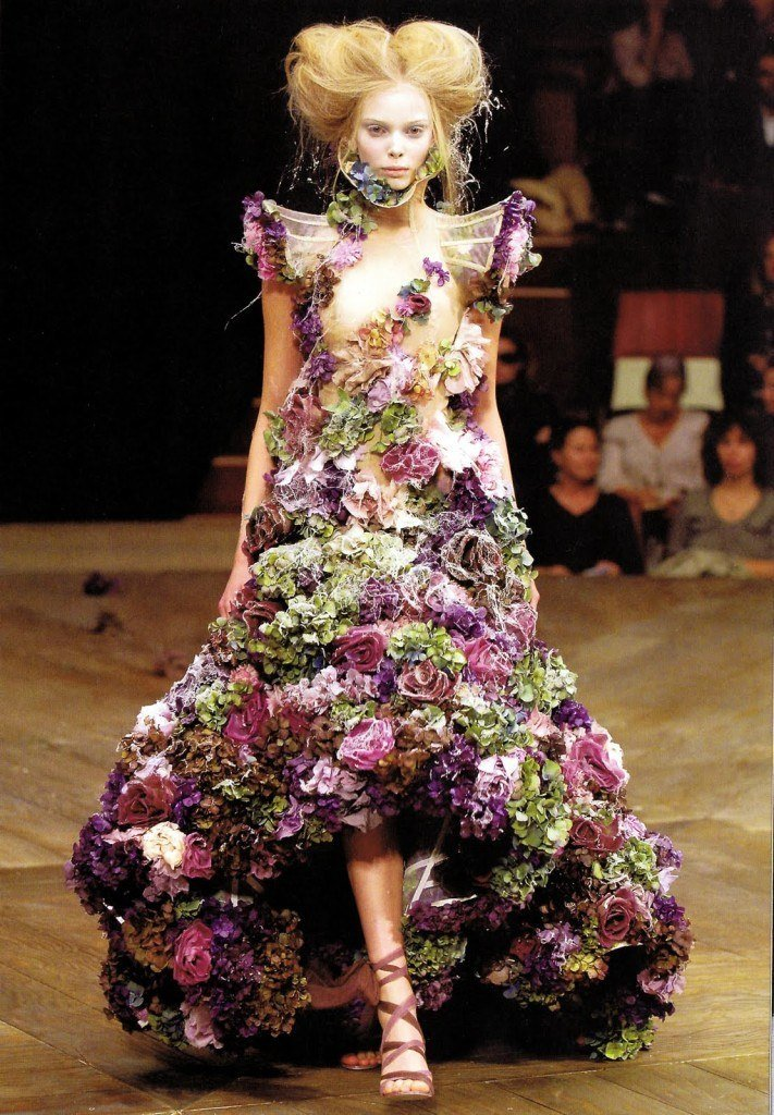 McQueen flower dress