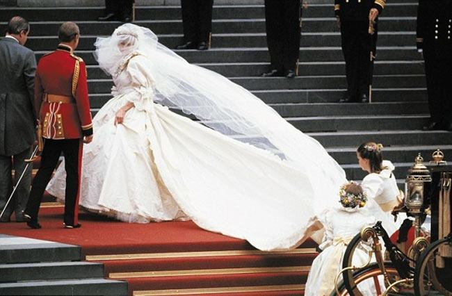 Expensive Wedding Dress of Princess Diana