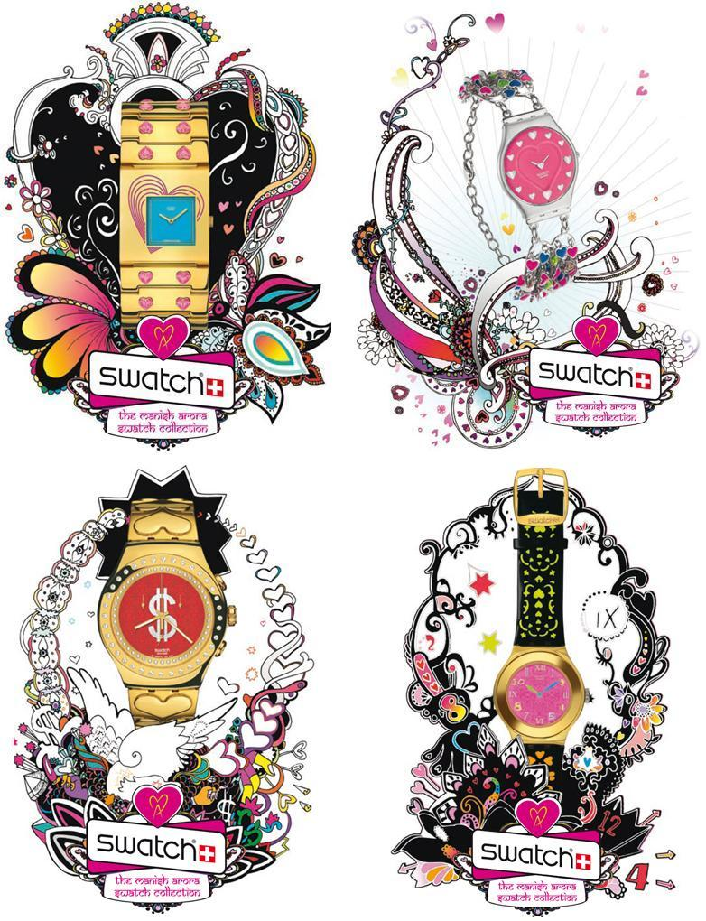 Swatch Manish Arora Collection