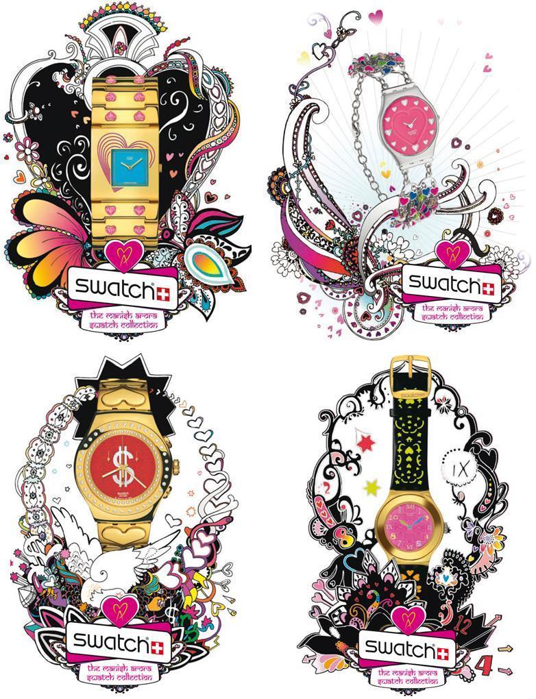 Swatch Manish Arora Collection