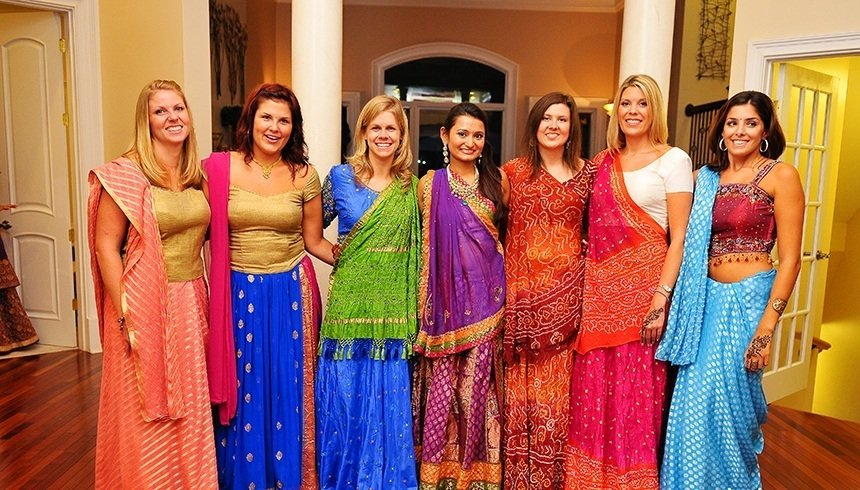 what wear sangeet ceremony