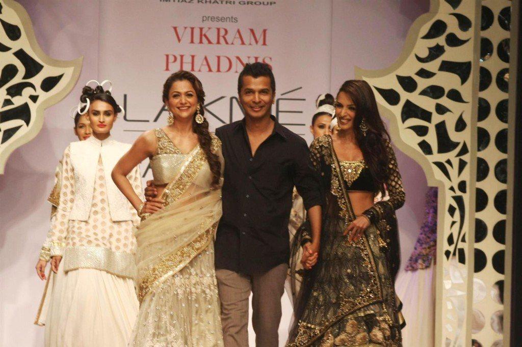 Vikram Phadnis on the ramp for designer Vikram Phadnis