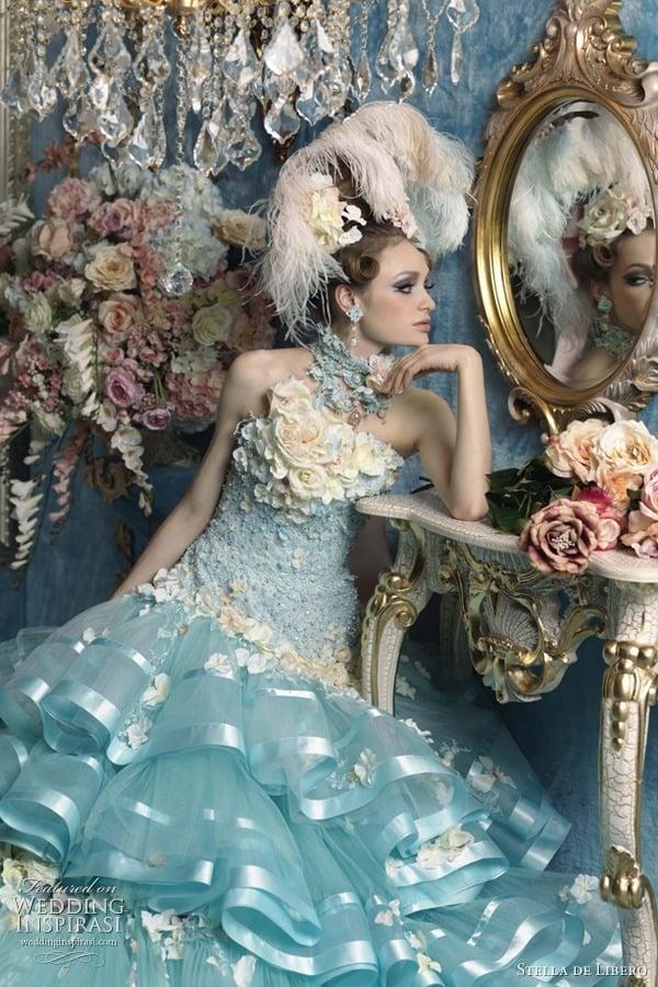 artificial roses dress