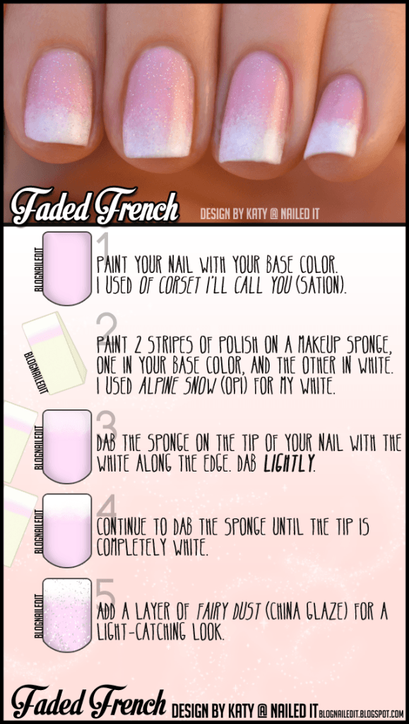 faded french