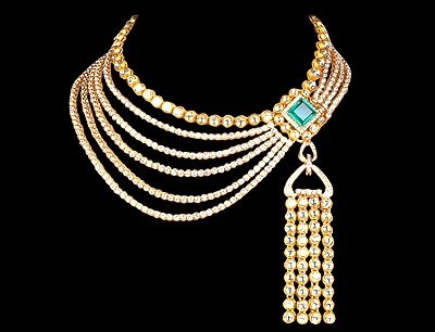 farah ali khan jewelry designer necklace