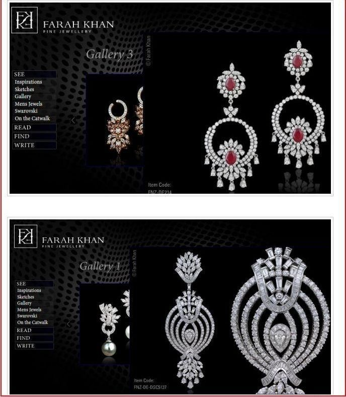 farah alikhan jewelry designer collections