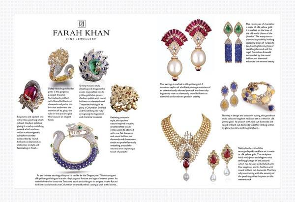 farah khan jewelry designer collections