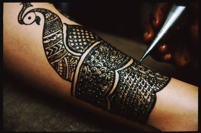 indian culture henna