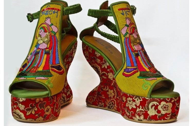 Rohan Arora embroidered footwear