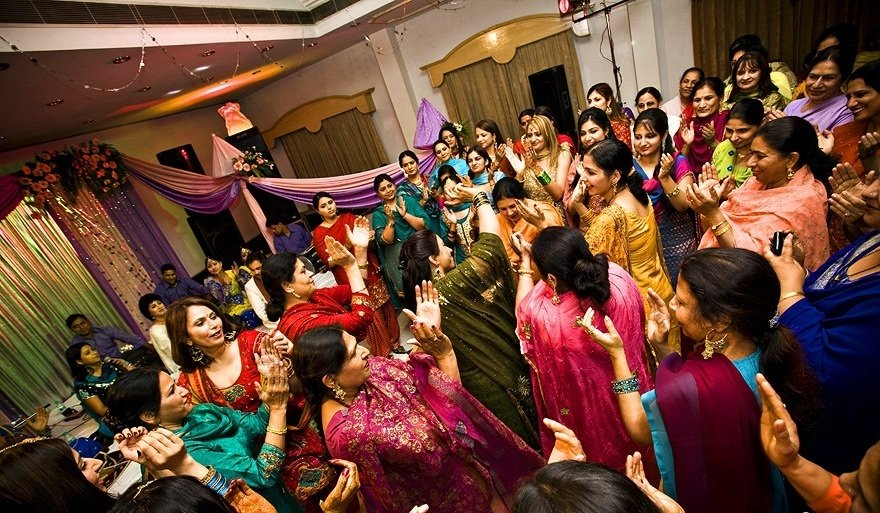 Inspirations For The Grand Indian Ladies Sangeet