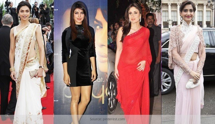 Top 5 Best Dressed Bollywood Actresses