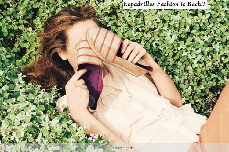 Espadrilles fashion For womens
