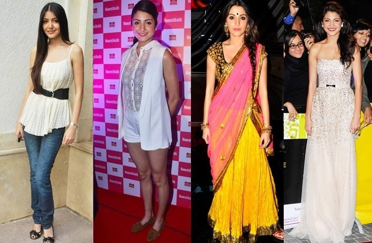 Anushka Sharma best dresses