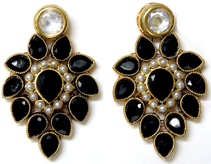 best kundan earrings