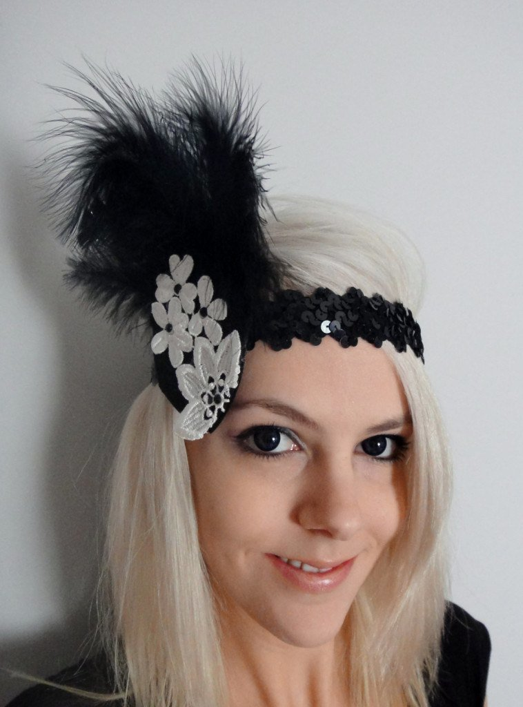 great gatsby style hair accessories gatsby inspired hair accessories 7346