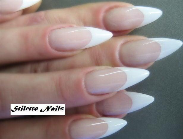 famous stiletto nail designs