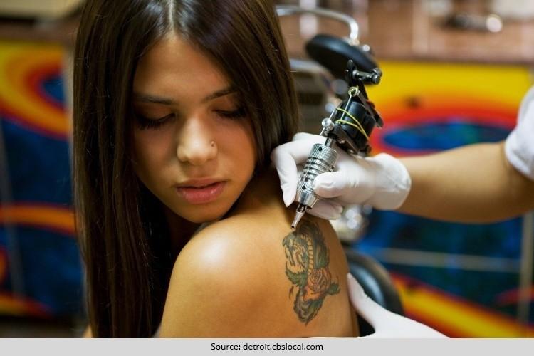 Teens on Getting Tattoo