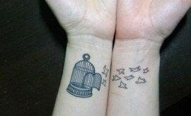 Cool Wrist Tattoos for Girls