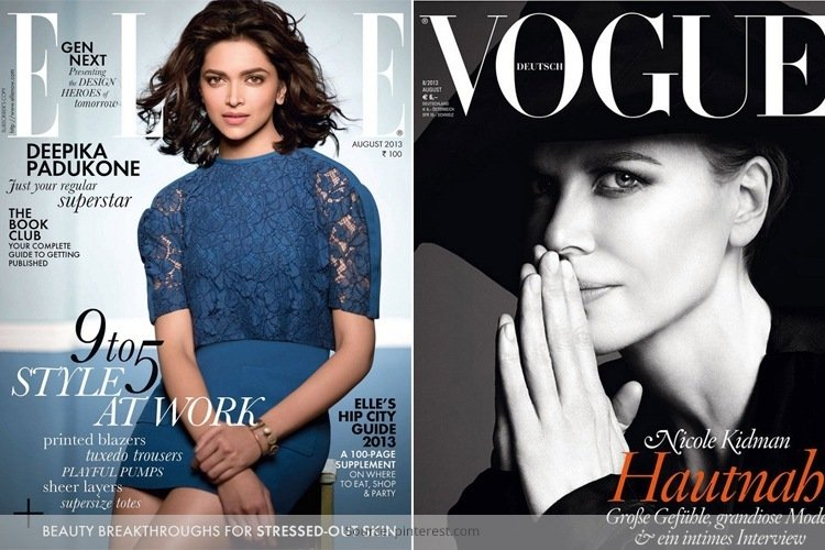 August 2013 Fashion Magazine Covers And Photoshoots