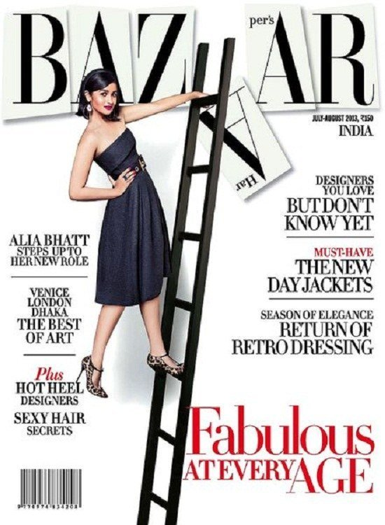 Harpers Bazaar India July August 2013